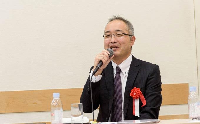 DIC株式会社 埼玉工場 総務グループ 業務・システム 担当課長 地木楽 輝明氏